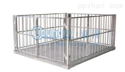 1吨上海地磅不锈钢牲畜秤