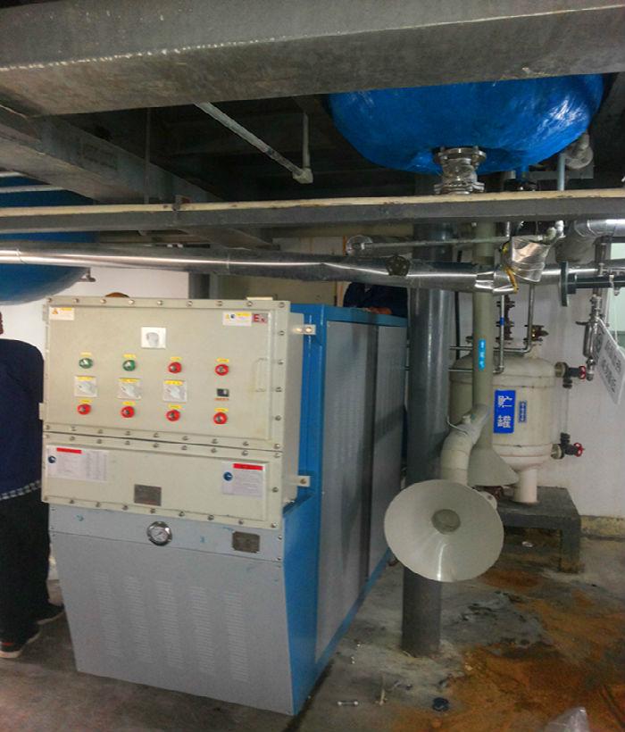 反应釜油加热器现场使用案例